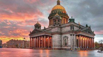 Освещение православных храмов - Исаакиевский собор